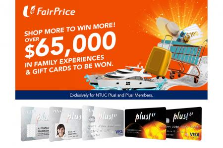 Get lucky at FairPrice with its Shop More To Win More draw