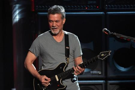 Rock legend Eddie Van Halen dies at 65 after long cancer battle