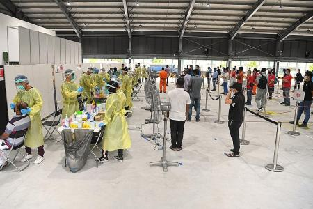 More testing centres for migrant workers to be set up by year-end