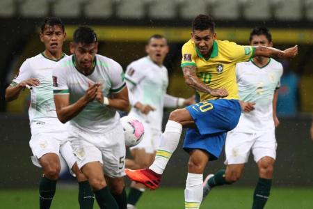 Firmino scores twice as Brazil batter Bolivia 5-0