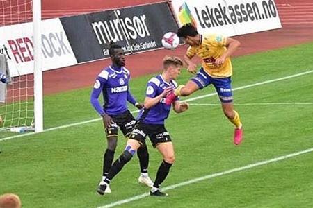 Ikhsan Fandi scores on full debut for FK Jerv against former club