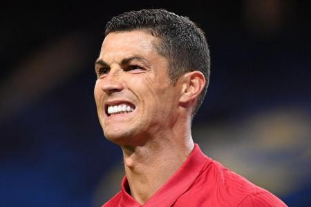 Portugal forward Cristiano Ronaldo tests positive for Covid-19