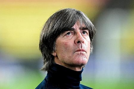 Joachim Loew under pressure after disappointing run of results