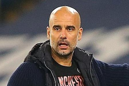 Man City need time to hit top form, says Pep Guardiola