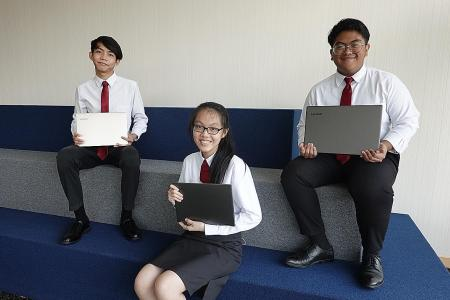 New initiative gives free laptops to needy students who pay it forward