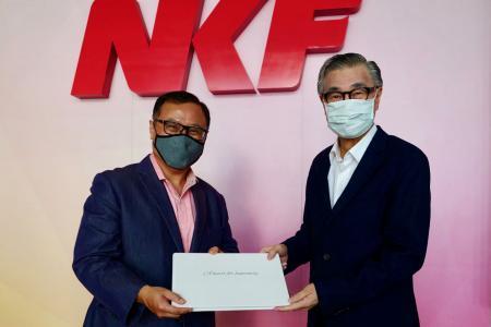 NKF chairman Koh Poh Tiong to step down, Arthur Lang to take over