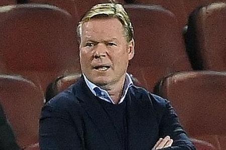 Ronald Koeman bemoans Gerard Pique red card ahead of Juventus clash