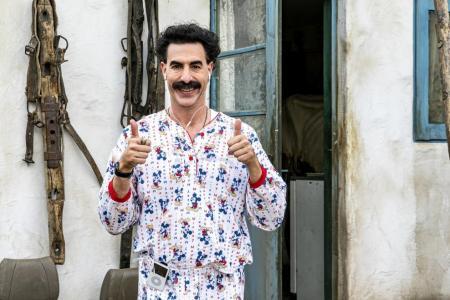 Trump calls Borat creator Sacha Baron Cohen a 'creep'
