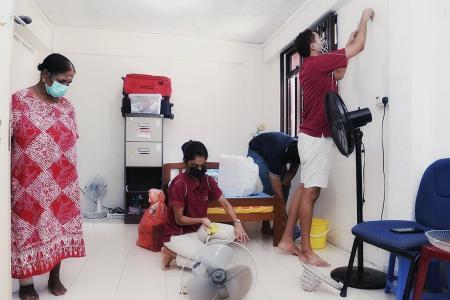 Sinda volunteers help shine up homes ahead of Deepavali next month