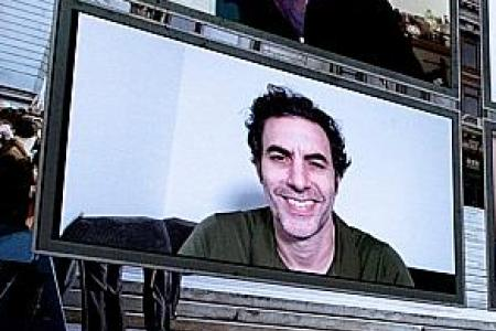 Borat sequel is Sacha Baron Cohen's protest against Trump's government