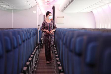 Precautions still a must despite low risk of infection during flights