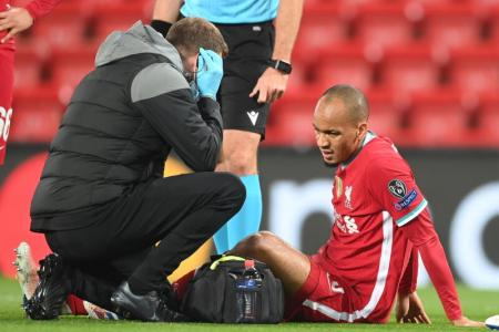 Fabinho's injury mars Liverpool's victory