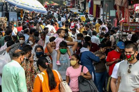 India passes eight million infections, braces for post-Deepavali surge