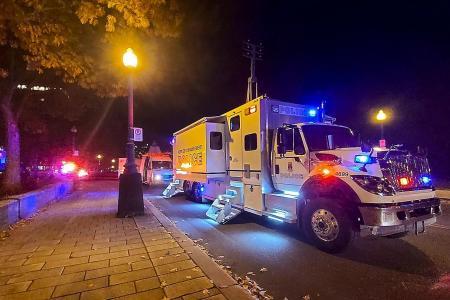 Sword-wielding man in medieval clothing kills 2, injures 5 in Quebec