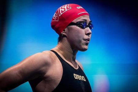 Second national record in 6 days for swimmer Quah Ting Wen at ISL