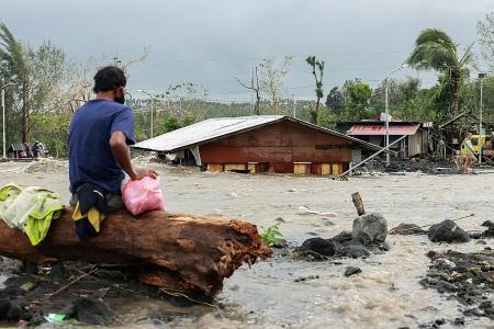 At least 7 dead as Typhoon Goni batters the Philippines
