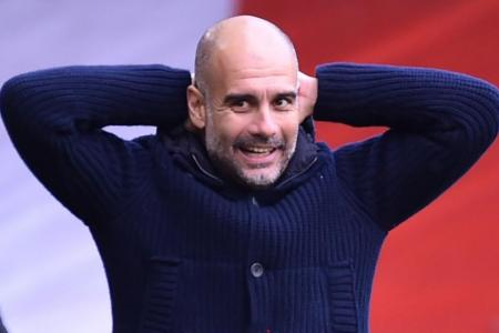 City's Guardiola focused on Olympiakos clash, not on Liverpool