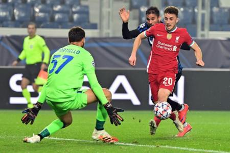 Jota scores hat-trick as Liverpool thrash Atalanta 5-0