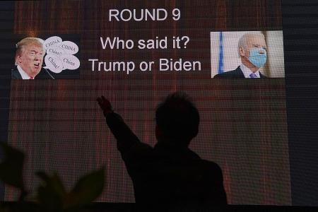 Chinese social media users slam Trump, ridicule messy US election