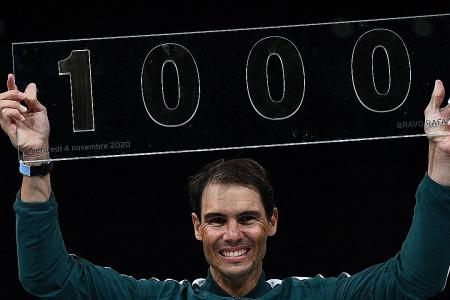 Nadal on winning 1,000 ATP Tour matches: I'm very old but super happy
