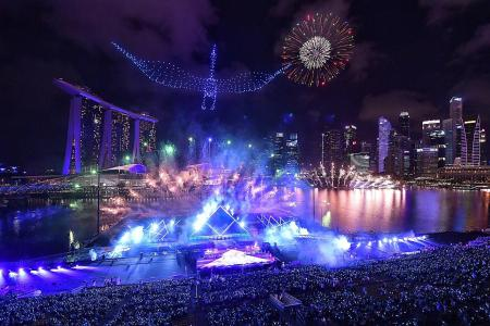No fireworks this year for New Year's Eve at Marina Bay
