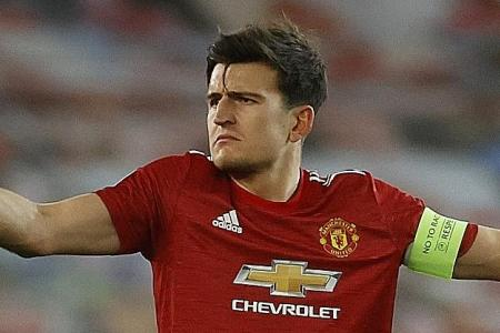 Manchester United critics are jealous, says captain Harry Maguire