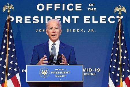 Biden implores Americans to wear masks as Covid-19 hospital cases soar