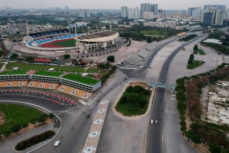 F1 drops Vietnam from record 23-race 2021 calendar