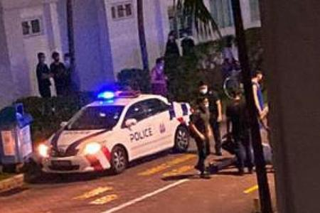 Man accused of slashing Certis officer charged with assault