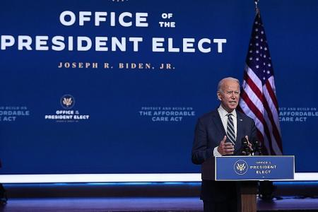 Biden calls Trump's refusal to concede an 'embarrassment'