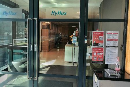 Water treatment firm Hyflux placed under judicial management