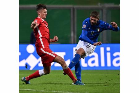 Depleted Italy thrive in adversity against Poland