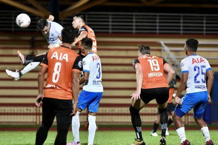 Sailors sweat Plazibat's injury ahead of Sunday's game with Albirex