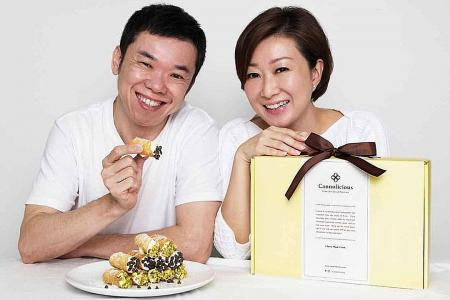 Former CEO starts online business selling DIY cannoli kits
