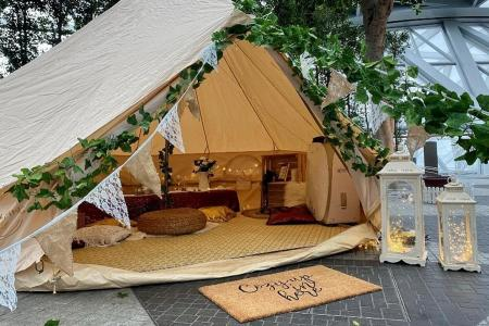 Jewel rolls out glamping packages