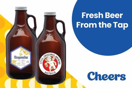 Cheers to beer on tap at Cheers, FairPrice Xpress