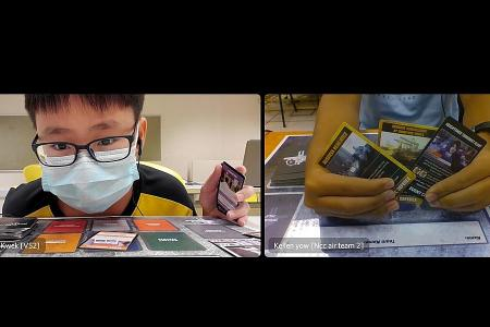Total Defence card game tournament held virtually for the first time