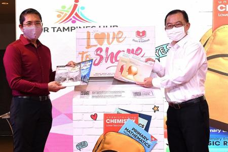 Volunteers wanted for FairPrice's Share-A-Textbook initiative