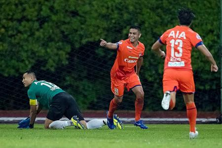 Advantage Albirex as Lion City Sailors and Tampines Rovers both falter
