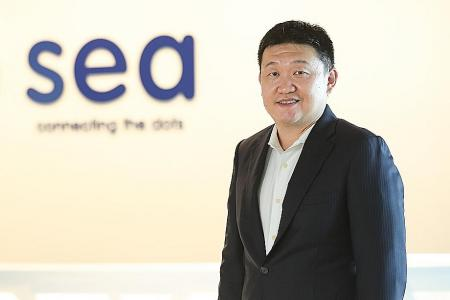Founder of tech giant Sea Forrest Li named Businessman of the Year