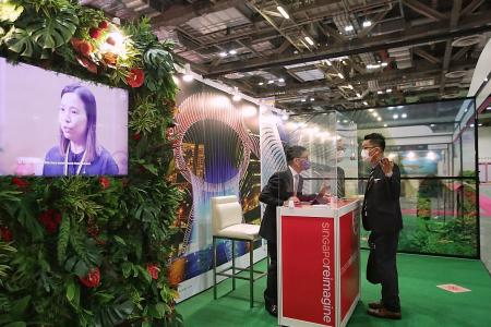 Singapore holds first physical trade show since February