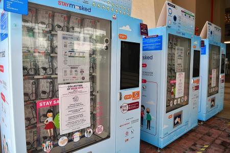 Third mask distribution exercise by Temasek kicks off on Monday