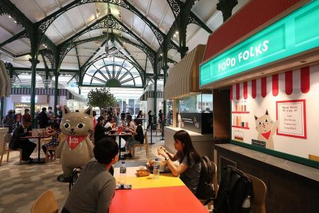 Local brands the focus for Food Folks at Lau Pa Sat