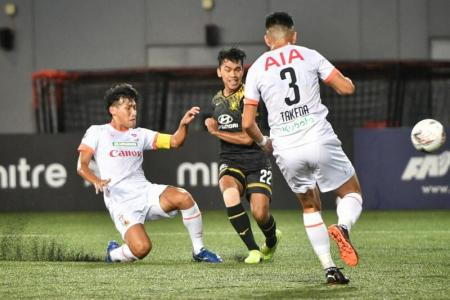 Much at stake, but Albirex, Tampines not looking too far ahead