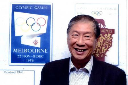 Tributes pour in for 'godfather' of Singapore water polo Tan Eng Bock