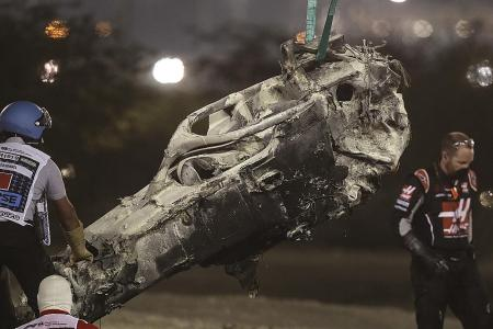 Halo bar saved my life: Haas F1 driver Romain Grosjean