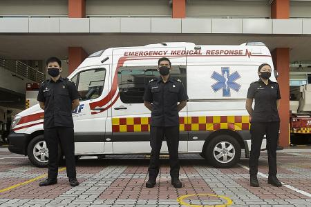 SCDF in tie-up with two private ambulance operators