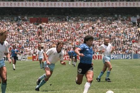 Maradona's 'Hand of God' shirt not for sale: England's Hodge