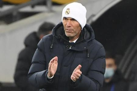 Real in deep trouble, but will keep the faith: Zidane