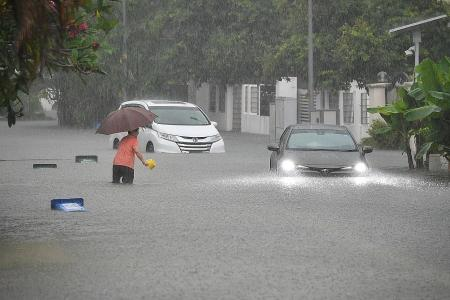More wet weather, with temperatures dipping to 22 deg C this month